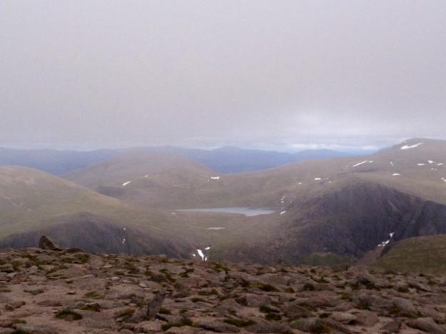 Atop Cairngorm Mountain (pre-heatwave)