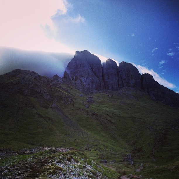 Spiritual sights at the Old Man of Storr