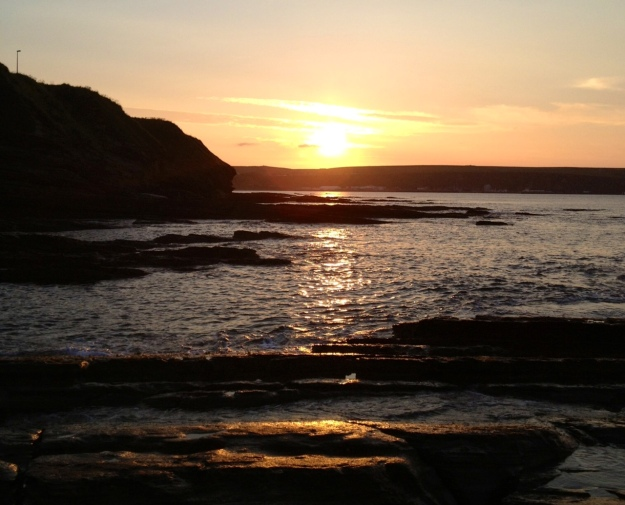 Sunset at Thurso