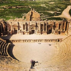 South Theatre at Jerash